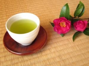 妊婦と緑茶